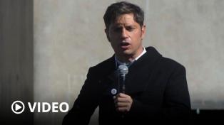 """Kicillof: """"Ni con la Justicia, ni con los medios van a impedir que cuidemos a los argentinos"""""""