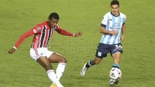 Racing y San Pablo empataron en Avellaneda por el Grupo E