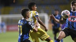 Rosario Central consiguió un valioso empate ante Huachipato en Chile