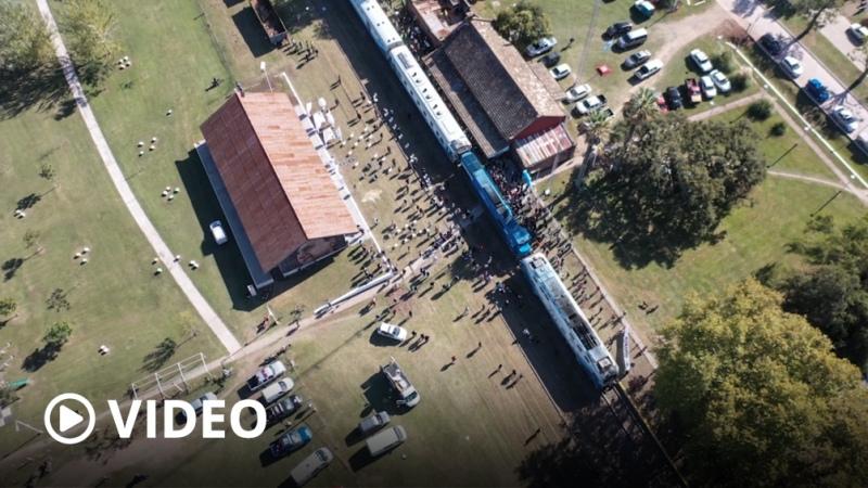 El tren El Tucumano vuelve a detenerse en la estación santafesina de Serodino