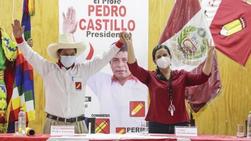 Castillo, ganador según el primer simulacro de votación en Perú