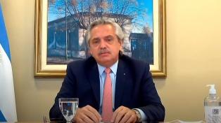 """Alberto Fernández pede para o Governo da Colômbia que """"a violência institucional acabe"""""""