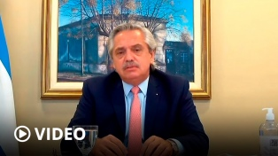 """Alberto Fernández llamó a construir una Argentina """"armónica y equilibrada"""" que evite """"desarraigos"""""""