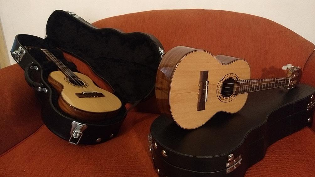 Los instrumentos de cuerda de Molina ya son una marca internacional.