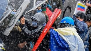 """Colombia rechazó los dichos de Fernández: """"Hay garantías para la protesta pacífica"""""""