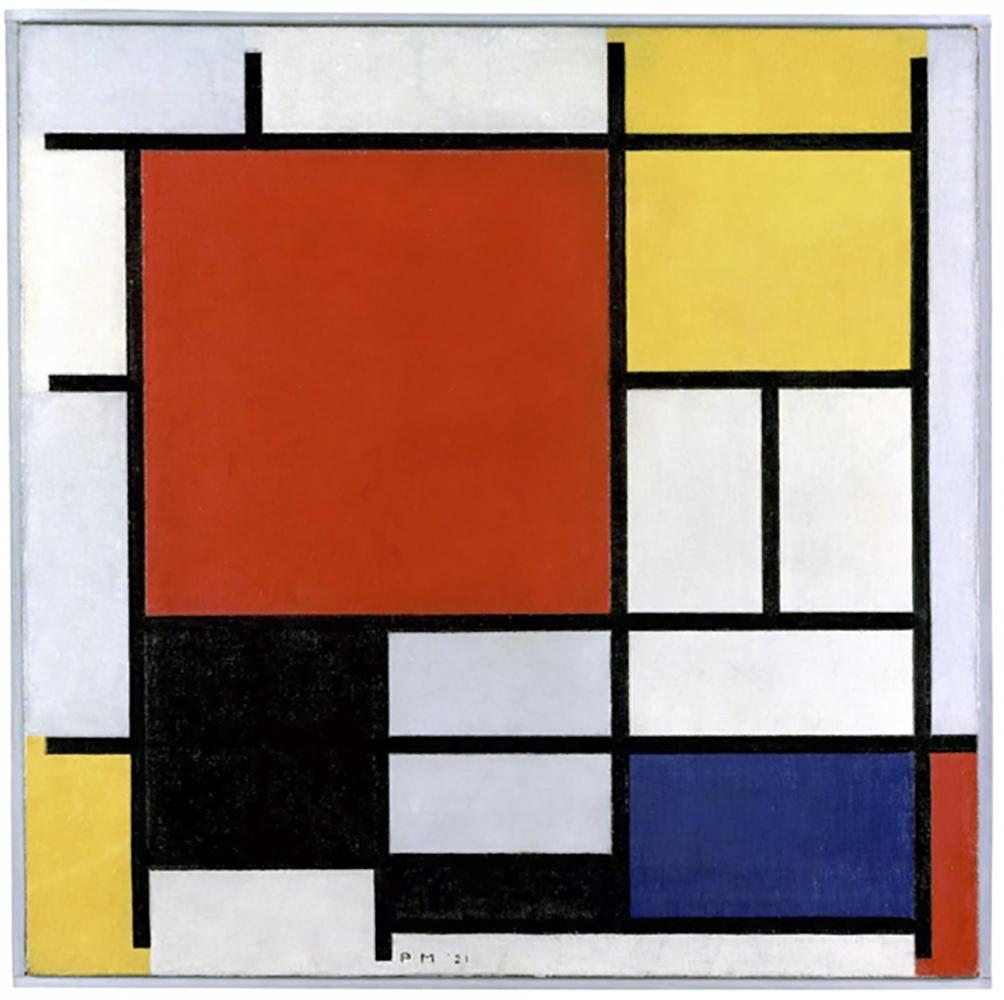 Mondrian fue pionero y exploró el neoplasticismo, desarrollando y refinando los principios del arte abstracto