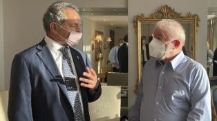 Scioli y Lula se reunieron en Brasilia y afirmaron la necesidad de fortalecer el Mercosur