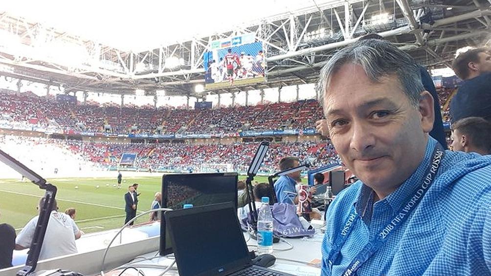 Viajó por el mundo, cubrió el Mundial 2018 en Rusia