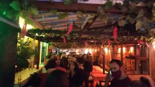 Dos detenidos por realizar una fiesta clandestina en un bar de Palermo