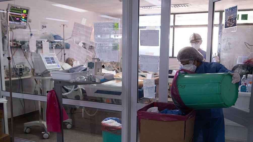 Ciudad: 63 muertos y 82,4% de ocupación en terapia intensiva en las últimas 24 horas