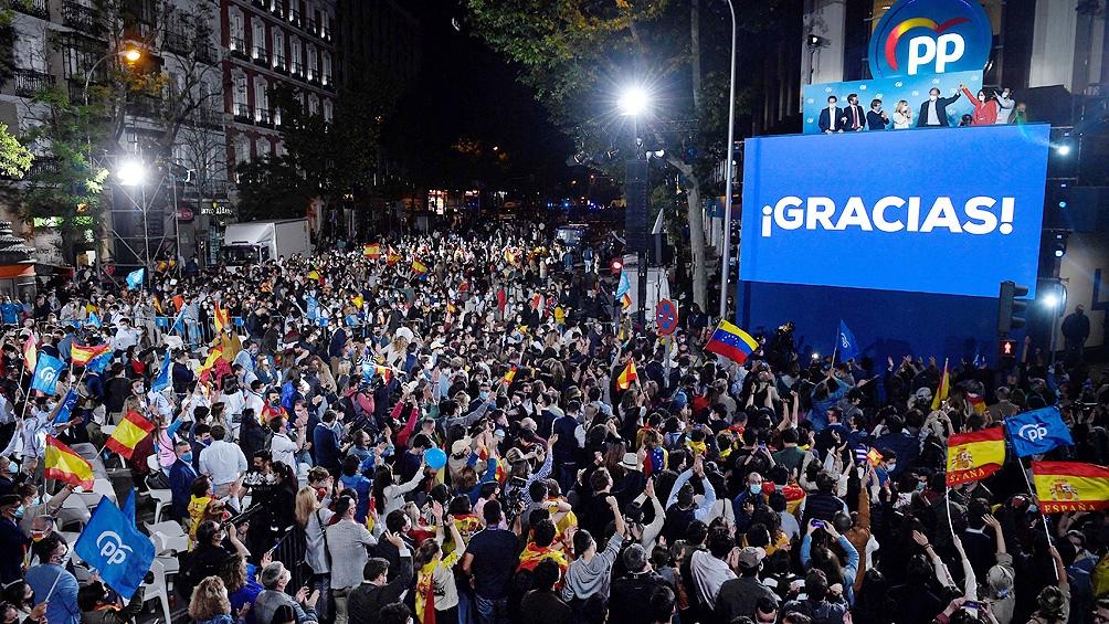 Las elecciones regionales en Madrid patean el tablero político en España