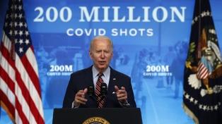 Biden reveló que casi la mitad de los líderes mundiales le pidieron vacunas anticovid