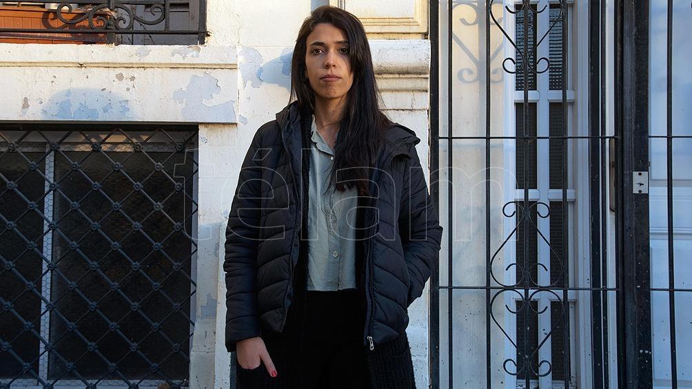 Nabila Badur, comunicadora y productora radial de 29 años que vive en la Ciudad de Buenos Aires.