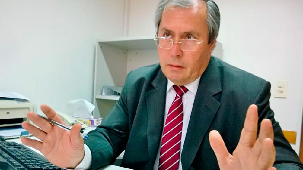 El diputado Héctor Olivares.