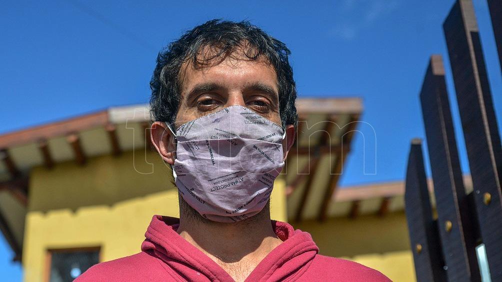 Álvaro Calderari es abogado, tiene 36 años y reside en San Salvador de Jujuy