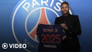 Neymar renovó contrato con PSG hasta 2025