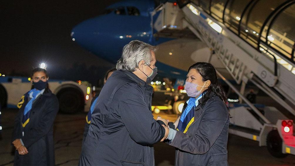 Se trata del segundo viaje a Europa de Fernández como presidente.