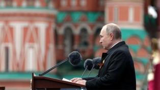 Putin advirtió en un discurso en Moscú que las ideas nazis siguen vivas