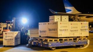 Llega un nuevo vuelo desde Moscú con medio millón de vacunas