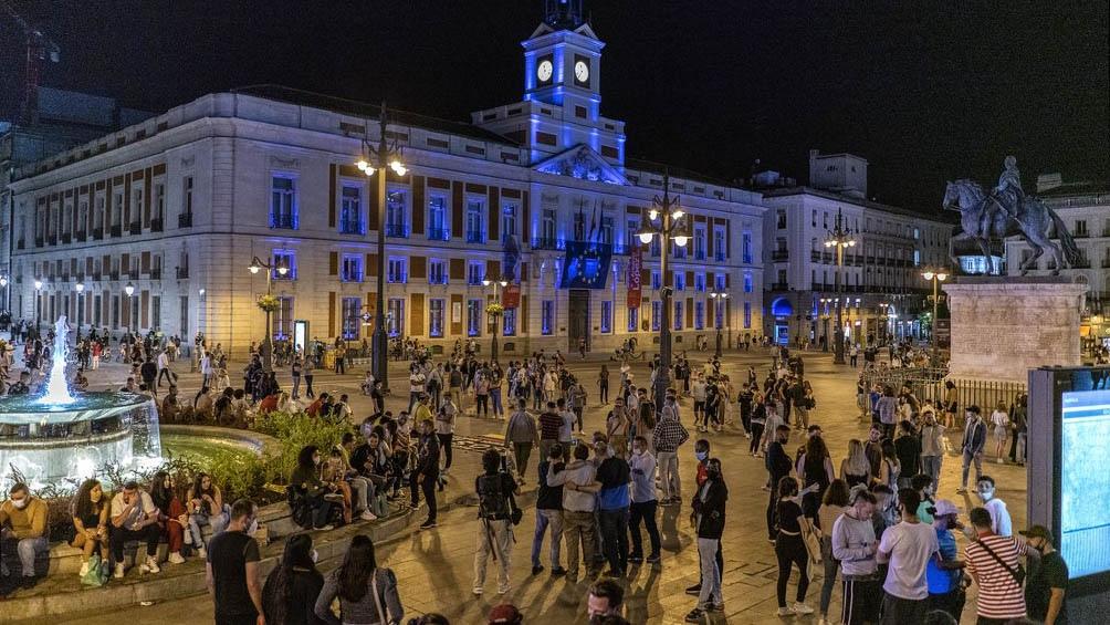 España festejó el desconfinamiento