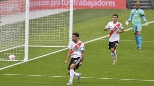 River goleó a Aldosivi en el Monumental y se clasificó a los cuartos de final