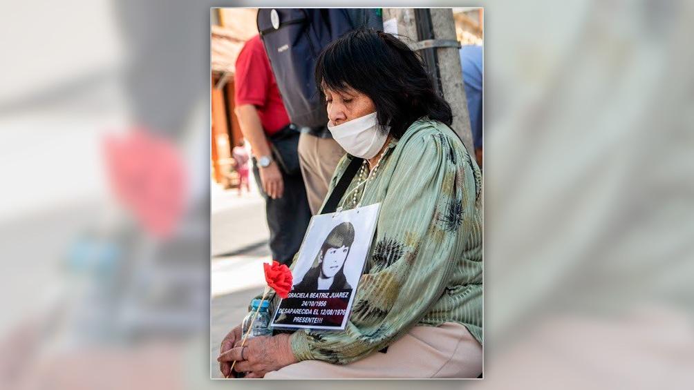 La madre de Graciela Juárez sigue reclamando justicia por la muerte de su hija.