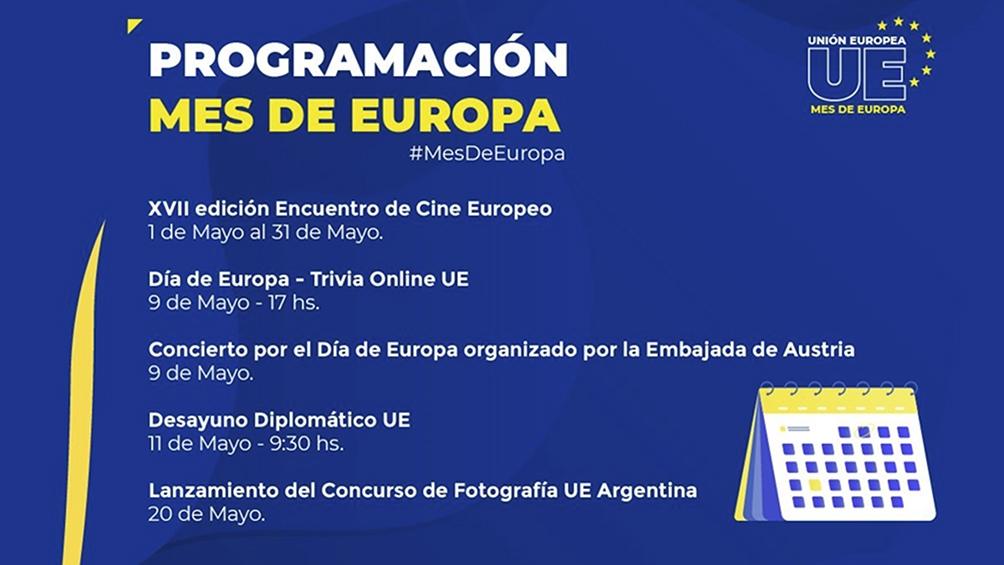 La UE celebró el Día de Europa y programó actividades para mayo en Argentina