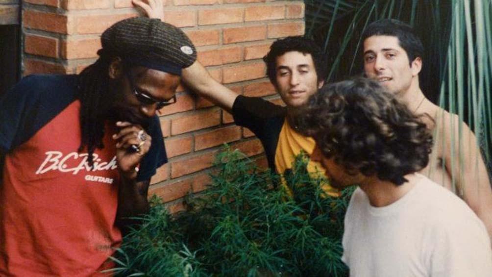 Sinsemilla, la banda que fue también semillero, en una de sus formaciones originales.