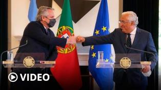 Argentina suma el respaldo de Portugal de cara a las negociaciones con FMI por un nuevo acuerdo