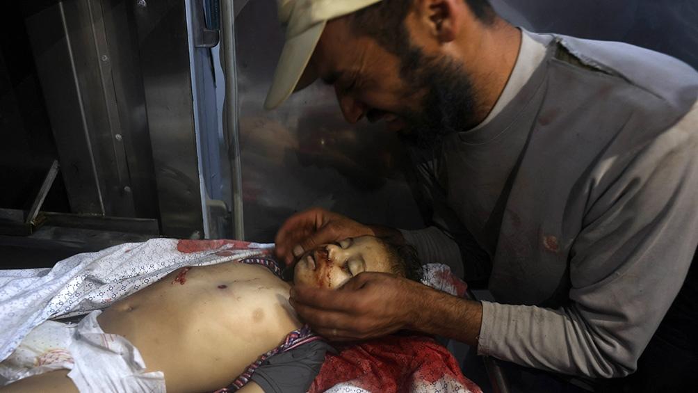 Nueve niños figuran entre los 20 muertos en la Franja de Gaza.