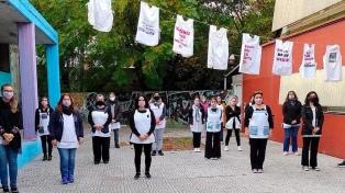 Los docentes de CABA continúan con protestas, semaforazos y asambleas