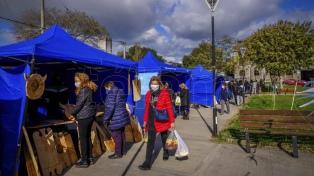 Se realiza una Feria de la Economía Popular en Tecnópolis