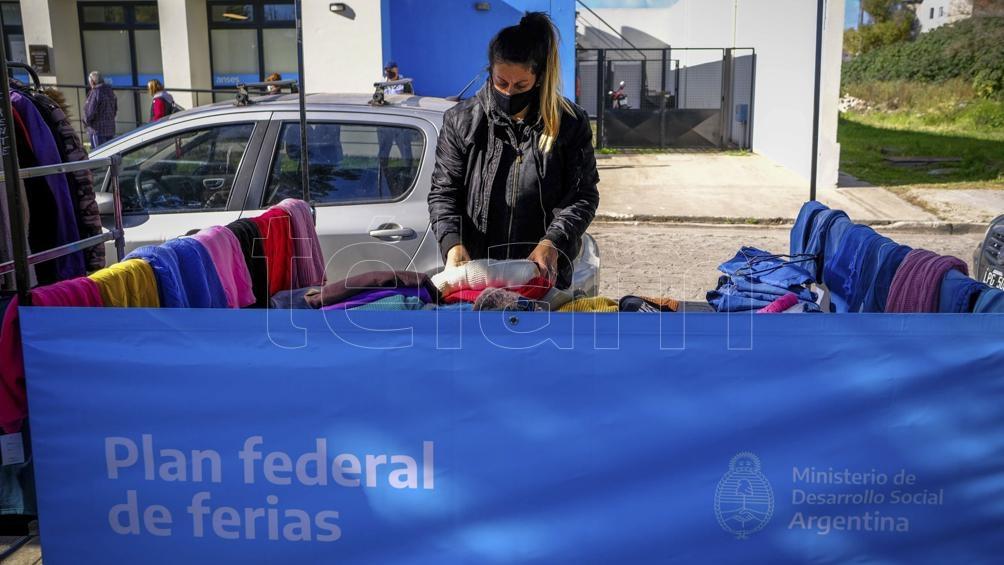 La actividad se enmarca en el Plan Federal de Ferias del Gobierno nacional.