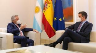 """Alberto Fernández: """"La Argentina y España van a consolidar un acuerdo estratégico"""""""