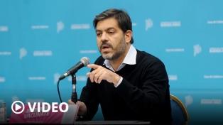 """Bianco criticó a Macri, Bullrich y Carrió: """"Hace un año y dos meses que inoculan odio"""""""