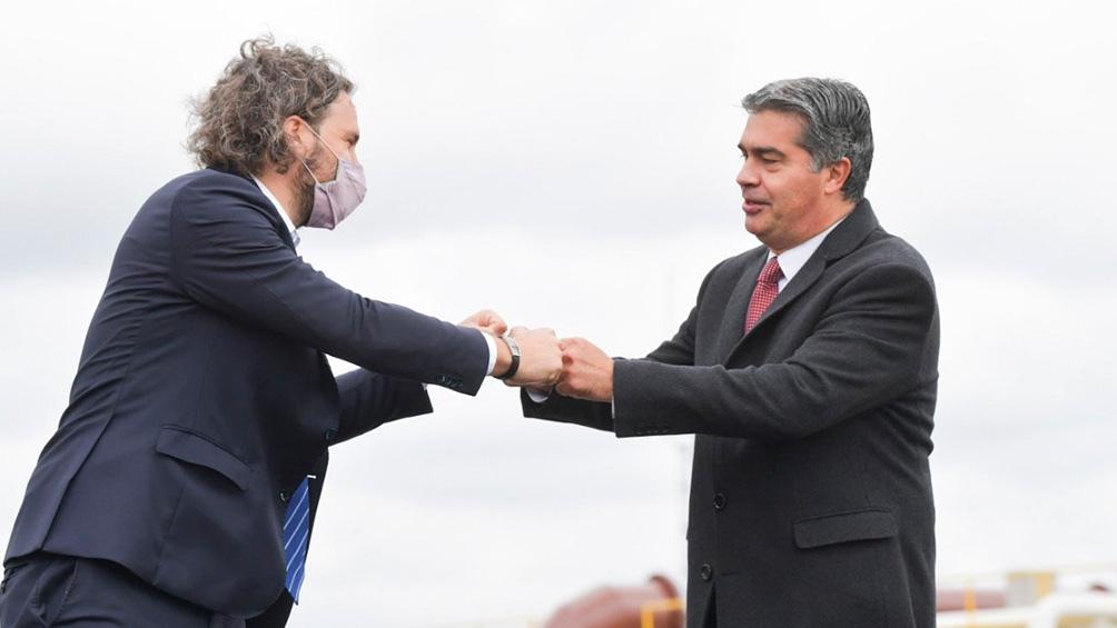 Cafiero y Capitanich inauguraron una obra de gran importancia para Chaco.
