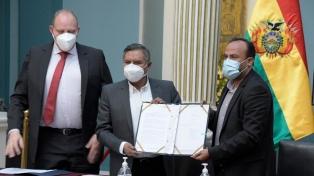 Bolivia llegó a un acuerdo para conseguir 15 millones de dosis de vacunas