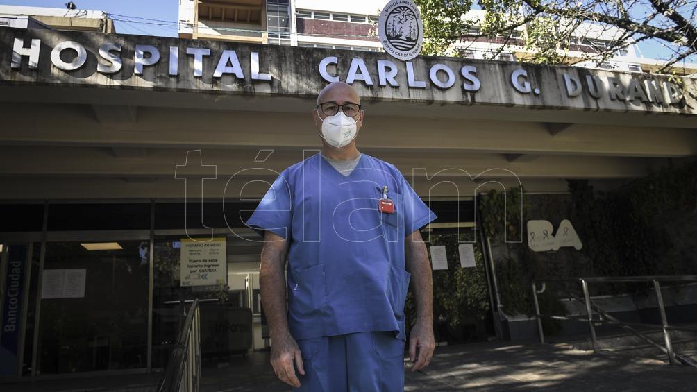 Jorge Iglesias Méndez, del Hospital Durand (CABA).