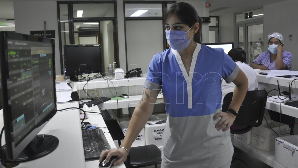 Murieron 203 profesionales de enfermería por coronavirus en el país .