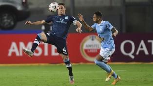 Racing sigue de racha: le ganó 2 a 0 a Sporting Cristal en Perú