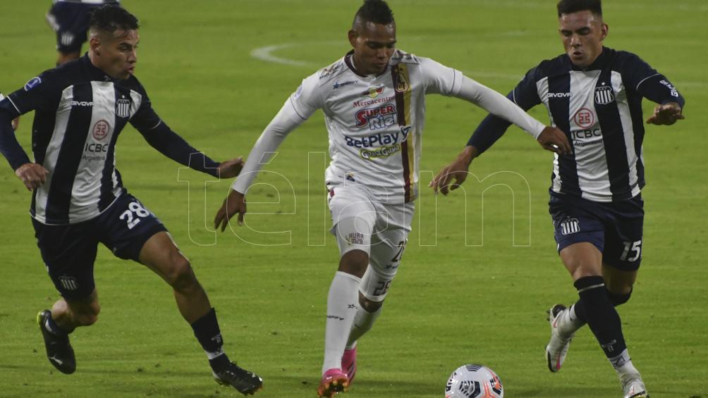 Talleres visita a Emelec en Guayaquil para cerrar su participación en la Sudamericana