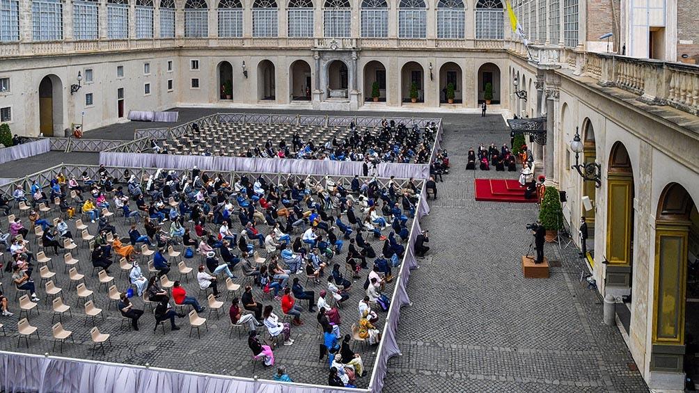 Recordó el 40 aniversario del atentado polaco contra el pontífice de ese país, Juan Pablo II, del 13 de mayo de 1981.