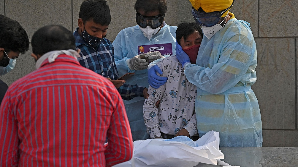 India es el segundo país del mundo con más casos de Covid-19