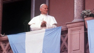 Las dos visitas del papa Juan Pablo II a la Argentina