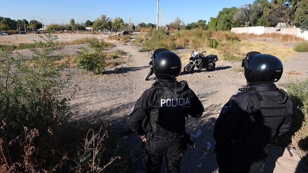 El fiscal de Homicidios, Carlos Torres participó de la búsqueda.