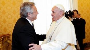 El papa Francisco agradeció a Alberto Fernández por su pedido de pronta recuperación