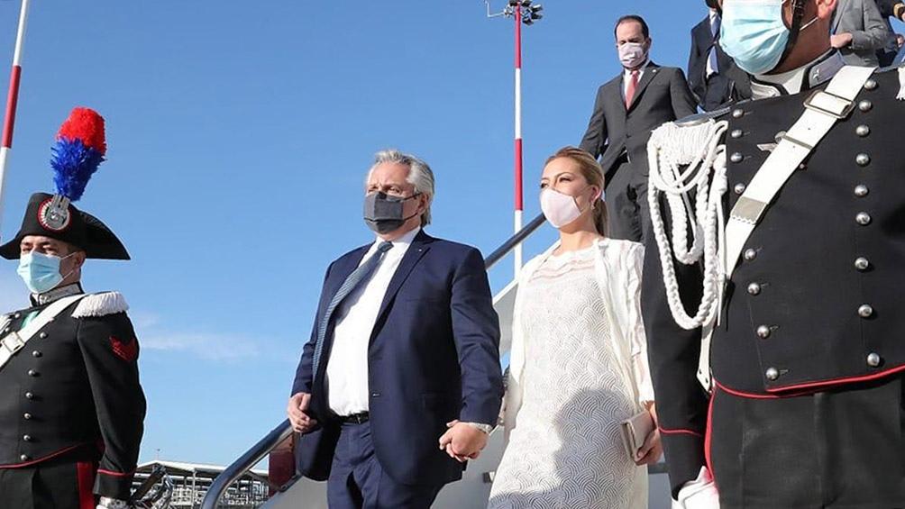GIRA EUROPEA: El Presidente se reunió a solas con el papa Francisco en el Vaticano