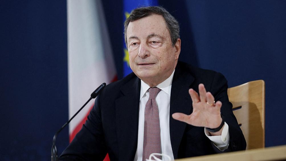 La derecha italiana quiere que el premier Draghi sea presidente desde febrero