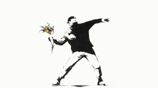 Se vendió un Banksy por más de 12.9 millones de dólares en una subasta de criptomonedas