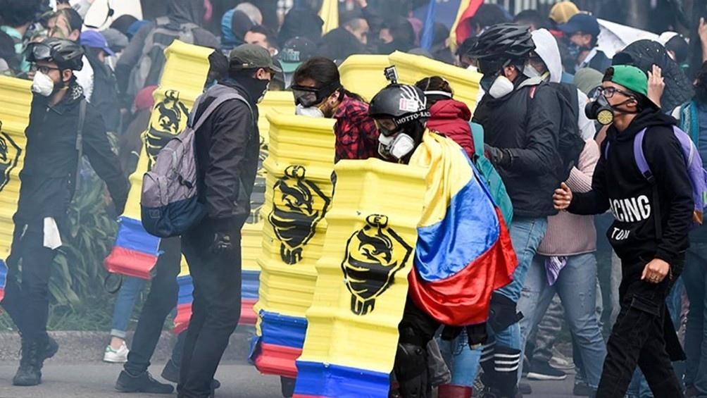 Desde el 28 de abril que Colombia tiene las calles de sus principales ciudades con protestas y concentraciones.